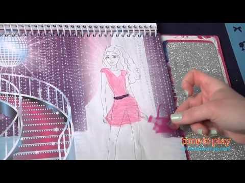 Barbie Glamtastic Fashion Sketch Portfolio From Fashion