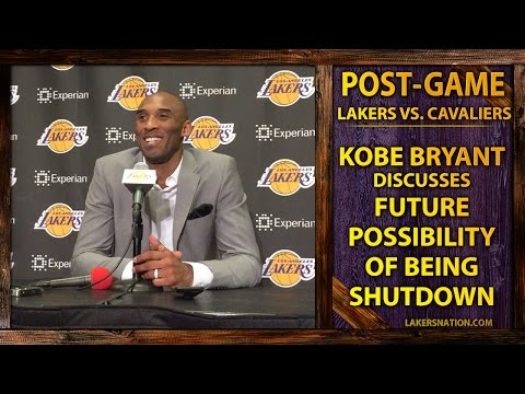 Kobe Bryant Says He'd 'Call It Quits' If He Can't Play At An Elite Level
