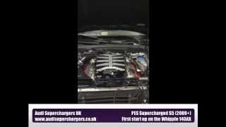 PES Tuning Supercharged Whipple 140AX Audi S5
