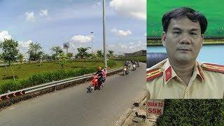 CSGT Phú Lâm: 'Dừng phương tiện nhưng chưa lập biên bản đường cong dưới dạ cầu QL1