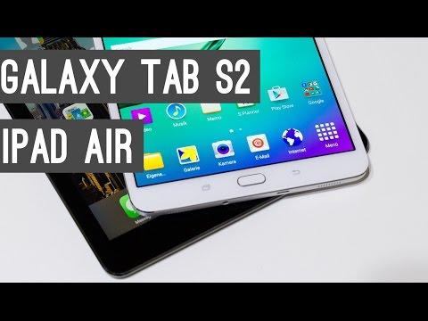 Samsung Galaxy Tab S2 vs. iPad Air Tablet Vergleich | Deutsch