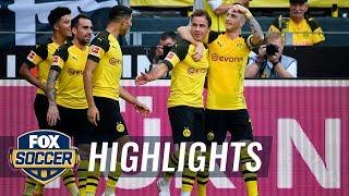 Borussia Dortmund vs. FC Augsburg   2018-19 Bundesliga Highlights