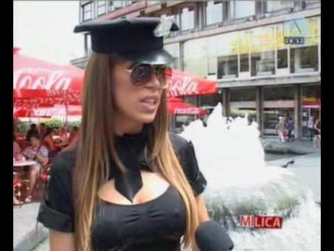 Olja Crnogorac voditeljka - Video za Maxim