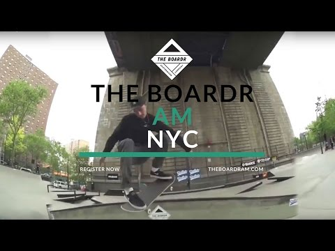 The Boardr Am Skateboarding Contest Series at LES: June 3, 2017