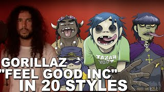 download lagu Gorillaz - Feel Good Inc  Ten Second Songs gratis