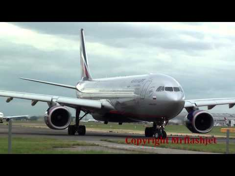 Aeroflot A330-300  {VQ-BCU}  at London Heathrow