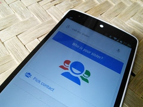 Hands on with Google's new Relationship Based Voice Recognition and Calling