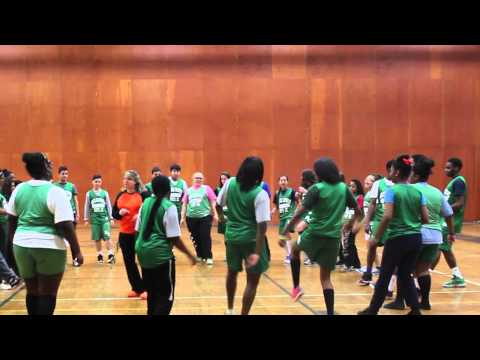 Roselle Catholic High School Students Dance!