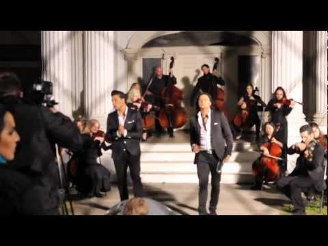 Kamran & Hooman - Fereshteye Nejat Official Behind The Scenes Video Hd video