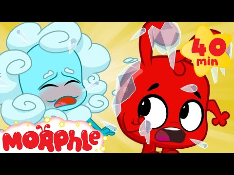 Oh no Atmo The Magic Pet Is Sick! Morphle videos for kids
