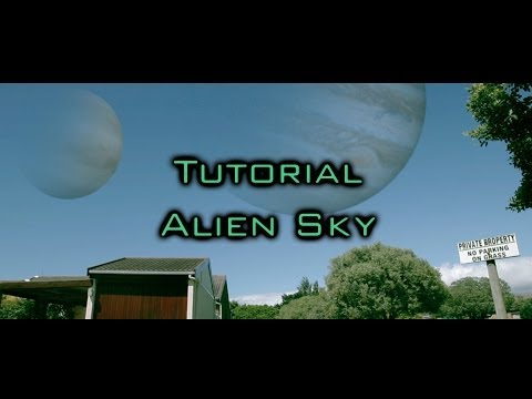 After Effects Tutorial - Alien Planets