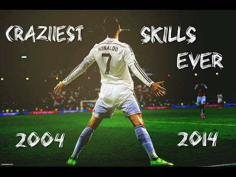 Cristiano Ronaldo ● Craziest Skills Ever ● 2004 2014 ► Teo Cri video