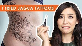 I Tried Jagua Tattoos - Tina Tries It