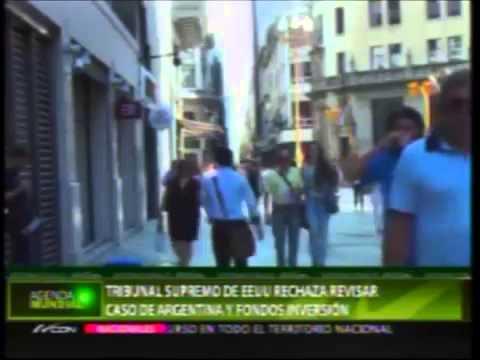 Tribunal Supremo de EEUU rechaza revisar caso de Argentina y fondos inversión