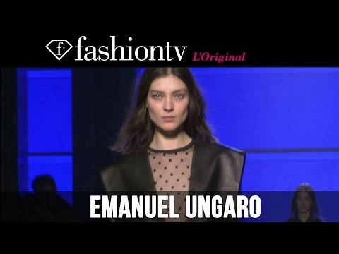 Emanuel Ungaro Fall winter 2014-15 Runway Show | Paris Fashion Week Pfw | Fashiontv video