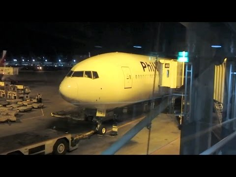 (1/2) Philippine Airlines B777 Business Class - PR116 Manila to Vancouver - Flight Vlog
