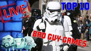 Top 10 Bad Guy Games