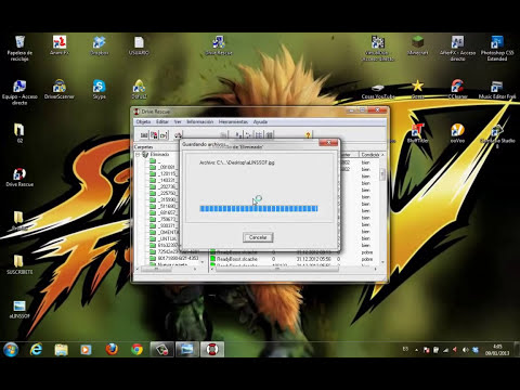Como recuperar archivos eliminados de una memoria USB