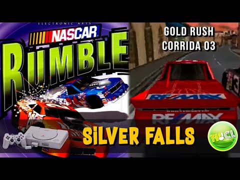 Nascar Rumble - Playstation 1 - Corrida #3