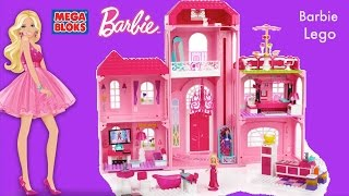Mega Bloks Barbie Luxury Mansion Barbie Life in the Dream house MegaBloks Compilation