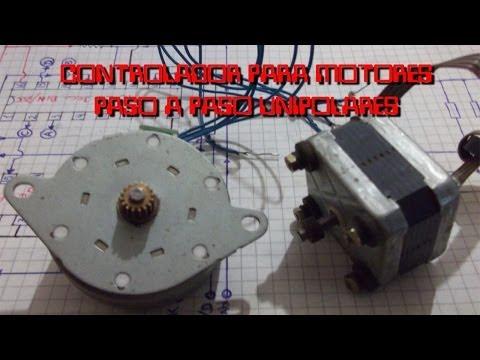 Controlador motor paso a paso