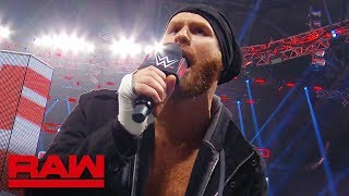 "Sami Zayn ""dumps"" on Everett during the commercial break: Raw Exclusive, June 24, 2019"