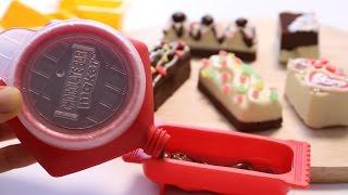 Chocolate Bars party ~ DIY Cooking Toy ショコラバーパーティ