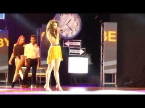 Leslie Grace en CHICA HTV, Medellin, Colombia 11/27/2013
