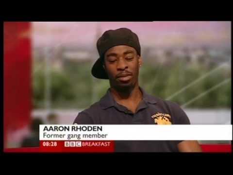 Reggie Yates and Aaron Rhoden talks about 'Teen Gangs' documentary