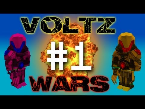 Minecraft Voltz Wars - New Power Armor! #1