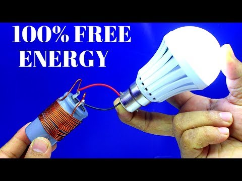 Free Energy Electricity Light Bulb Using Capacitor - Electricity Light bulb With Capacitor thumbnail