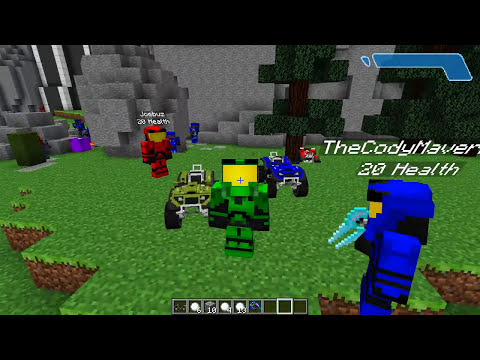 Minecraft Mods - MORPH MOD HIDE AND SEEK - HALO! ( Modded Minigame)