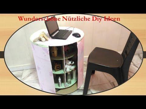 Wunderschöne Nützliche Diy Ideen - Aufbewahrung Upcycling -Möbel selber bauen - selber machen