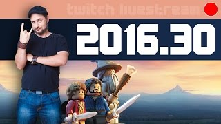 Livestream 2016 #30 - IndieGame & LEGO: The Hobbit