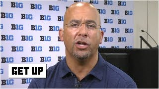 James Franklin talks Penn State's CFP National Championship hopes, Urban Meyer's retirement | Get Up