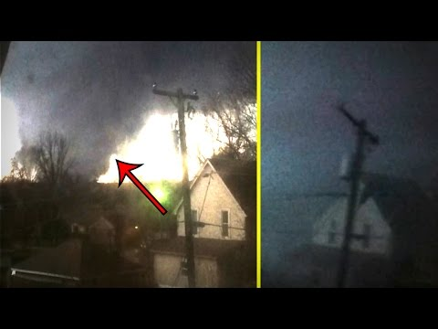 Man Records Tornado As It Passes Right Through His House