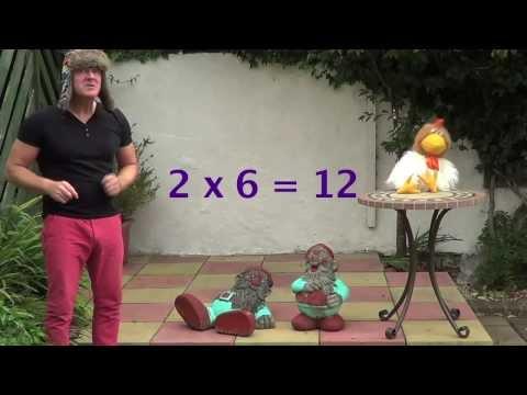 6 x table lesson 6 times tables song no 6 made easy for Table 6 song