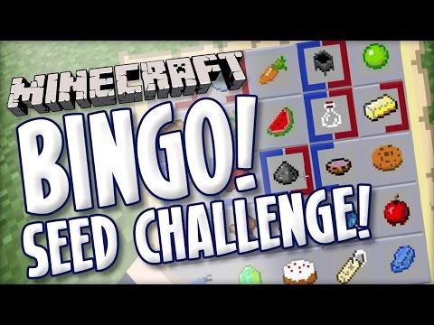 Minecraft BINGO - Blind Seed Challenge 40004