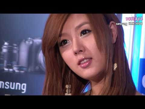 Six Racing Models at Samsung NX10 launching ceremony in Korea (1080p HD)