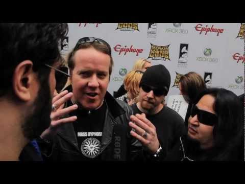 FEAR FACTORY Interview at Revolver Golden Gods 2012 on Metal Injection