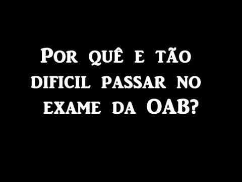 Carlos Avila - Preparação Emocional - Por quê os candidatos não passam no exame da OAB?