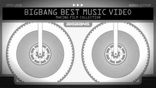 BIGBANG BEST M/V MAKING FILM COLLECTION Release spot