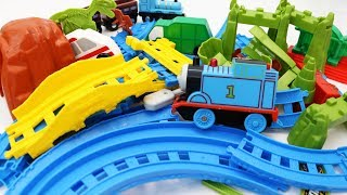 Building Blocks for Children Toy Train and Vehicles for Kids