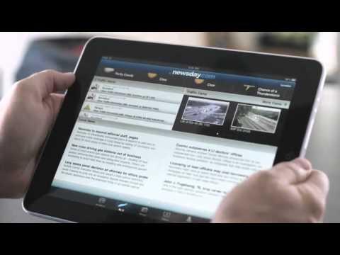 Бумажная газета vs. iPad