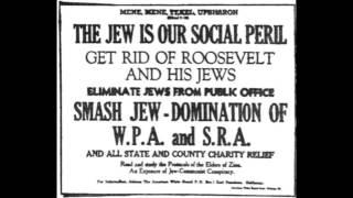 jew Malthusian Lies-3,000,000 jews Sit Down-Scroll 1:09 Reported Oct 29, 1937