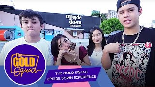 TGS UPSIDE DOWN EXPERIENCE | The Gold Squad
