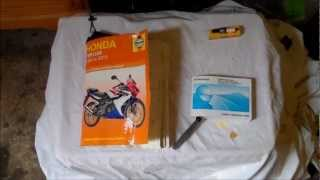 How to: Change Spark Plug On A Honda CBR125R