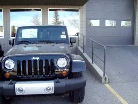 Come in today to pick up your all new 2009 Jeep Wrangler from Airdrie Chrysler. Call today at 866-629-3712.