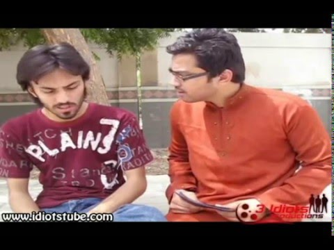 Aamir Liaquat Parody by 3 Idiotzz