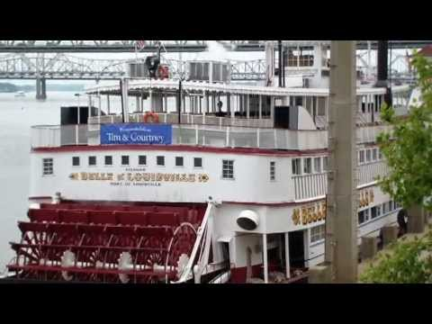 Belle of Louisville. Paddle Wheel Boat Paddlewheel